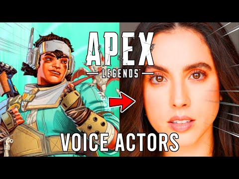 BEHIND THE LEGENDS - Apex Legends Voice Actors Interview (All Apex Voice Actors)