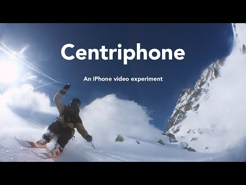 Stunning 360-degree ski video shot with a selfie string