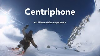 Centriphone - an iPhone video experiment by Nicolas Vuignier(find out how I did it: https://youtu.be/d45oGNv8H98 After almost two years of tinkering and tweaking I finally achieved the result I was looking for PRE ORDER ..., 2016-02-05T10:07:33.000Z)
