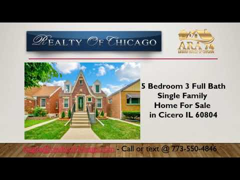 5 bedroom 3 bath houses for sale in cicero il 60804 j sterling rh youtube com