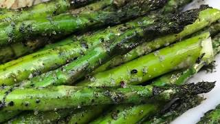 Grilled Asparagus Recipe - How to Make Grilled Asparagus