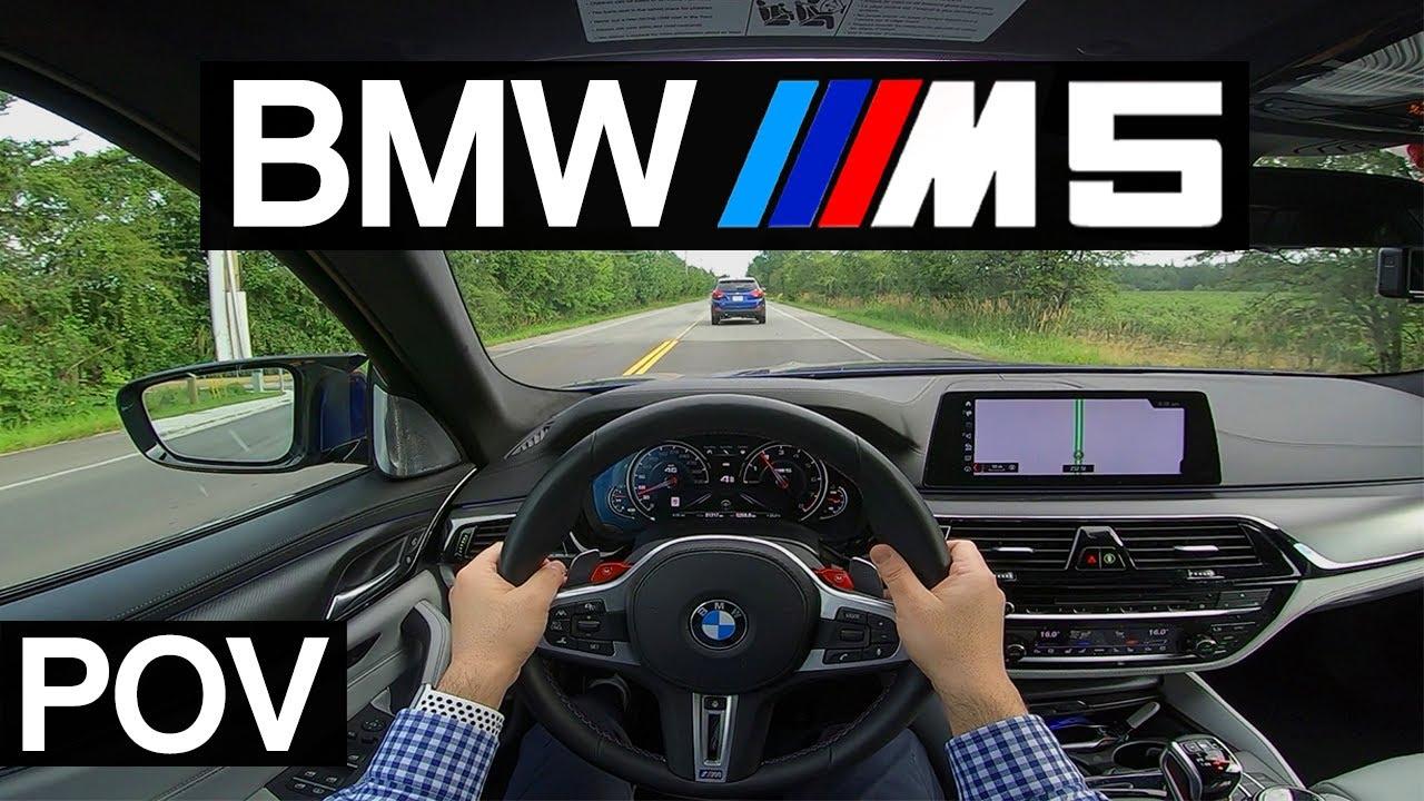 BMW M5 F90 POV Driving in Metro Vancouver