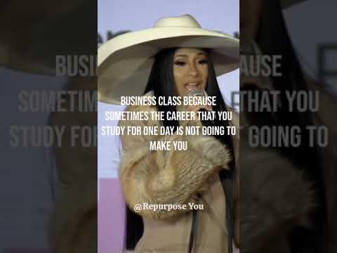 "Cardi B ""Take a business class!"" #Shorts"