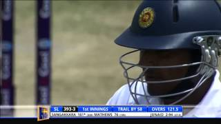 Kumar Sangakkara 10th Double Hundred - Day 4, 1st Test: Full Highlights