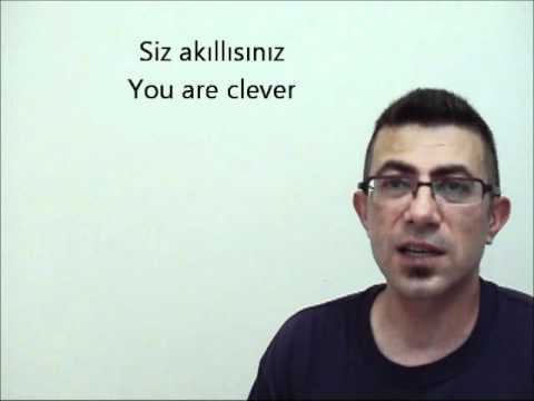 Online Turkish Lesson basic1 part2