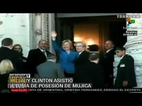 Clinton's Latin American tour
