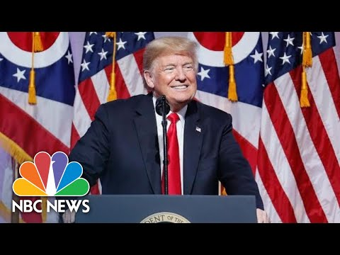 President Donald Trump Talks About Kanye And Kim, But Avoids McCain's Terminal Health | NBC News