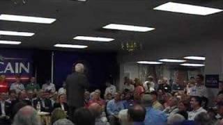 Senator John McCain on Medical Marijuana 8-9-07 Thumbnail