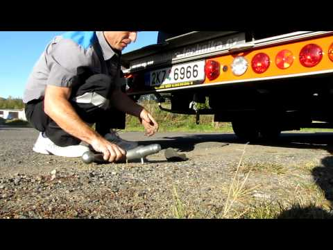 Fitzel SPEEDER odtahová hliníková nástavba - sejmutí tazneho zarizeni