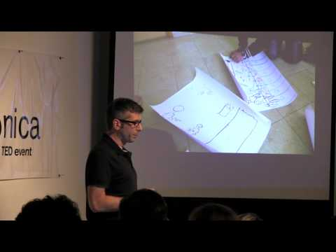 TEDxSantaMonica   Brian McCarty   War, Art Therapy, and Toys
