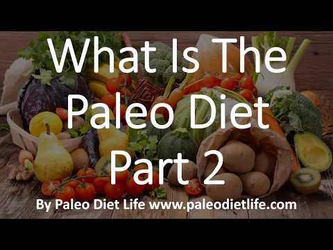 What Is The Paleo Diet Part 2