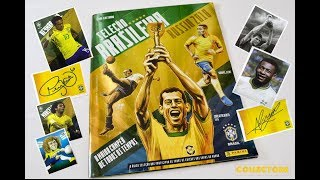 BRAZIL´S TEAM WORLD CUP RUSSIA 2018 FULL STICKER ALBUM