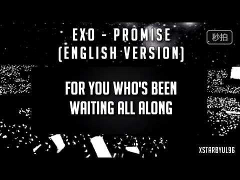 EXO - Promise(English Ver.)