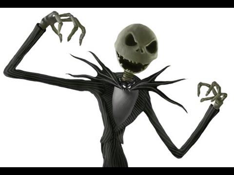 Halloween Makeup | Jack The Skeleton | - YouTube