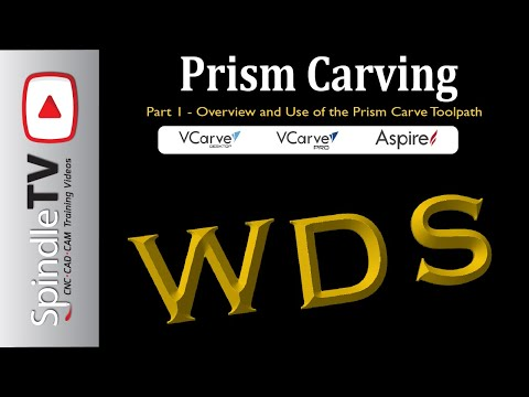 Exploring Prism Carving In Vectric - Prism Tool Path Overview