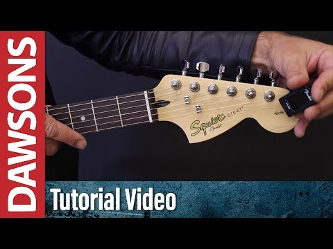 how-to-tune-a-guitar-using-a-digital-tuner