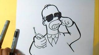 как рисовать Гомер Симпсоны агент(Рисование Гомер Симпсоны агент музыка (Audiomicro.com), 2014-10-05T00:44:13.000Z)