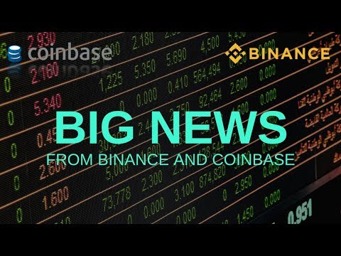 BIG NEWS from Binance and Coinbase - Today's Crypto News