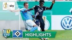 Chemnitzer FC - Hamburger SV 2:2 (5:6 n.E.) | Highlights - DFB-Pokal 2019/20 | 1. Runde