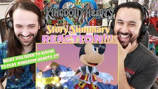 KINGDOM HEARTS Story Summary | (What You Need to Know to Play KH3) - REACTION!!!