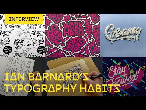 Ian Barnard On Creating A Font And Not Going Mad