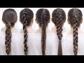 CÓMO HACER LAS MEJORES TRENZAS PASO A PASO   Braid Hairstyles Patry Jordan