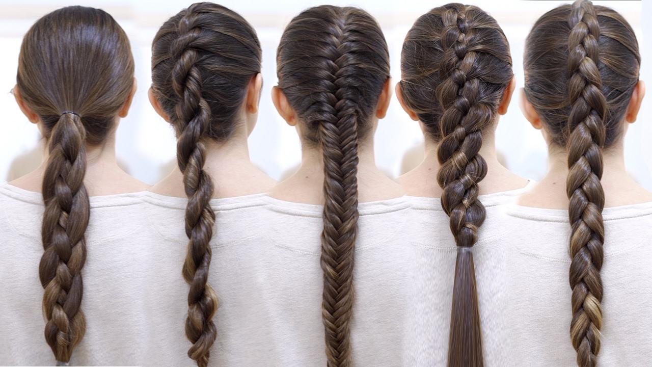 Como Hacer Las Mejores Trenzas Paso A Paso Braid Hairstyles Patry