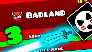 💥BADLAND FULL VERSION! LAYOUT PREVIEW 3 Geometry Dash 2.2 Beta