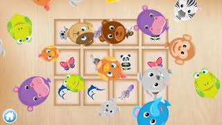 Play Animals Puzzle for Kids Toddler #2 - Nursery Rhymes - Children App Education