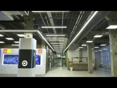 Система управления освещением DALI в технопарке Morion Digital