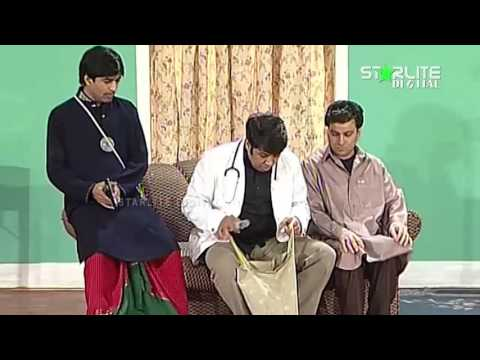 Best of Naseem Vicky, Tariq Teddy and Sajan Abbas New Pakistani Stage Drama Full Comedy Funny Clip