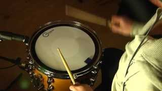 Aquarian Hi-Energy Snare Batter Head Test