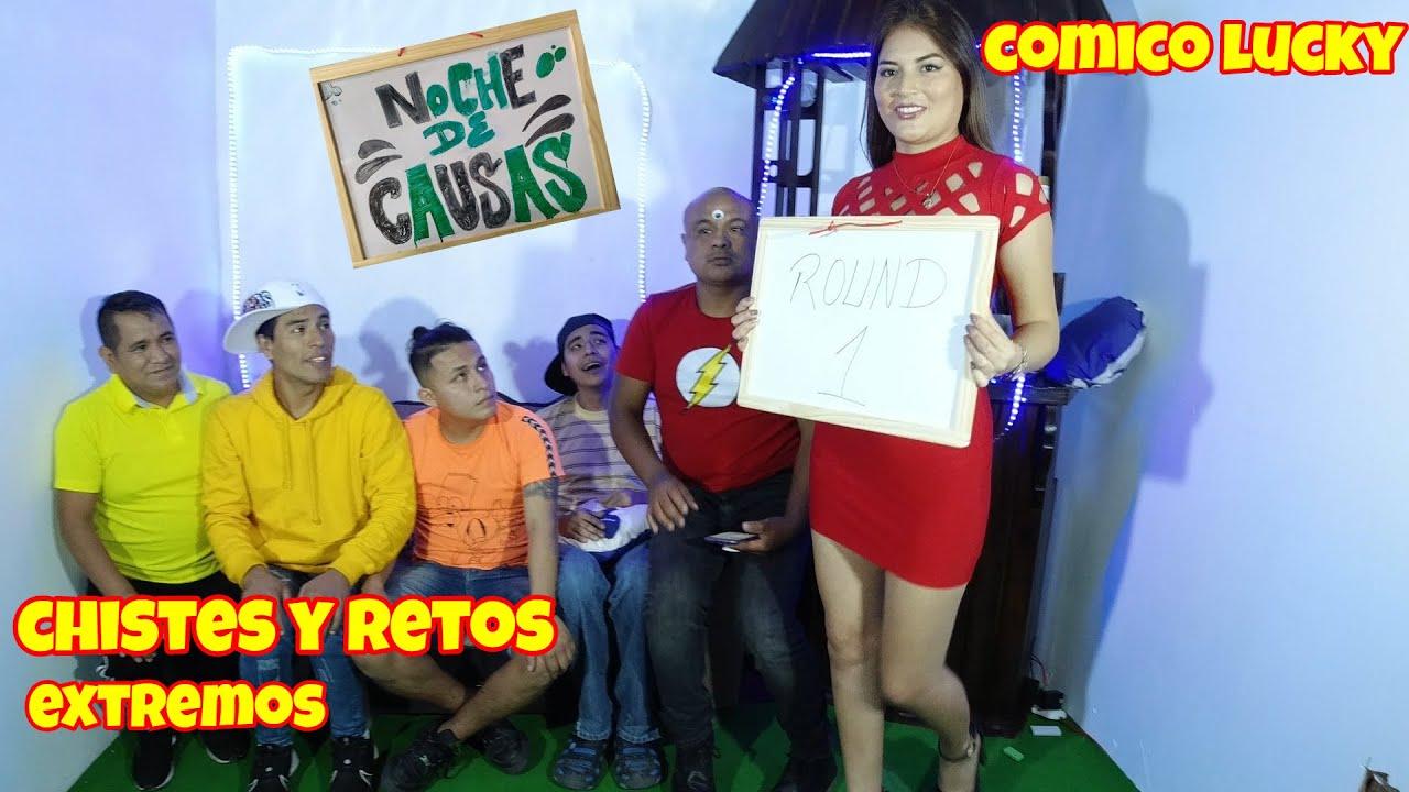 NOCHE DE CAUSAS 1 COMICO LUCKY FT LIENDRITA, SHAGUI Y ENTRE PATAS