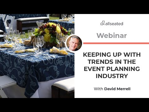 Event Industry Trends and Forecasts with Dave Merrell