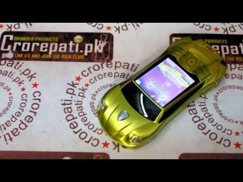 Ferrari F699 Flip Car Mobile Phone Dual SIM Cards