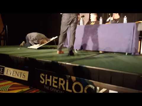 Sherlocked USA Mark Gatiss v Jonathan Aris