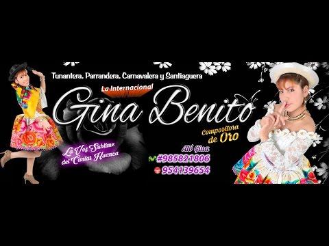 SANTIAGO 2017 GINA BENITO P@lomit@ Mens@jer@ PRIMICIA EXITO LO NUEVO , NUEVO