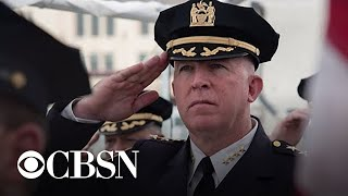 James O'Neill steps down as NYPD commissioner