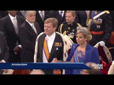 New Dutch king