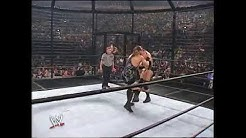 shawn michaels vs triple h, booker t, chris jericho, kane and rob van dam wwe survivor series 2002
