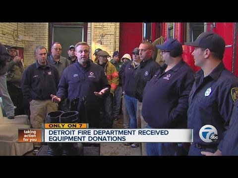 Detroit Fire Dept. Gets Help From Across The Country