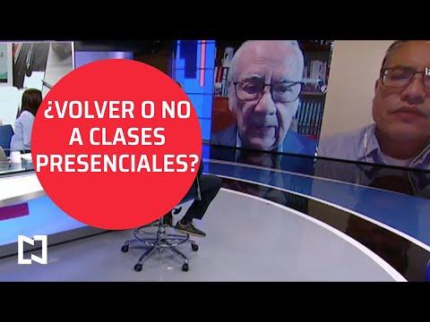 Entrevista I ¿Volver o no a clases presenciales?, el análisis en Despierta