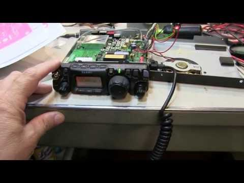 #240: Repair of Yaesu FT-817 with SSB CW AM Transmit Problem | QRP Rig