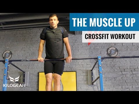 The Bar Muscle Up | CrossFit Demo w/ Weighted Compression Shorts & Shirt