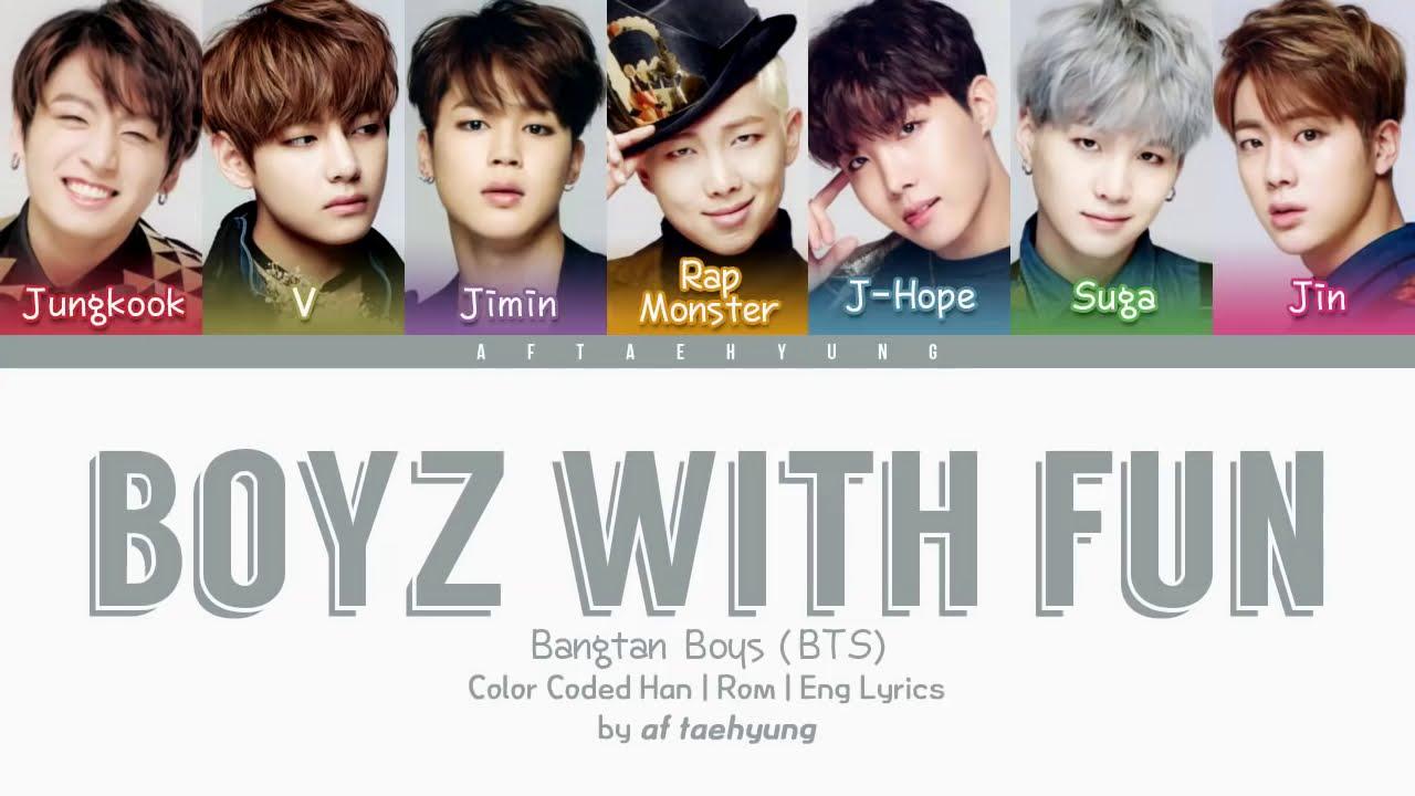 BTS – Boyz With Fun