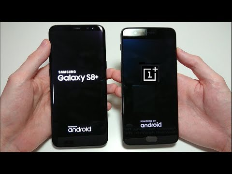 Thumbnail: OnePlus 5 vs Samsung Galaxy S8 Plus Speed Test!