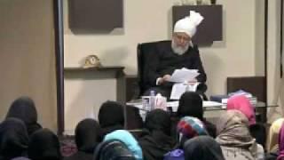 Gulshan-e-Waqfe Nau (Lajna) Class: 9th January 2010 - Part 7 (Urdu)