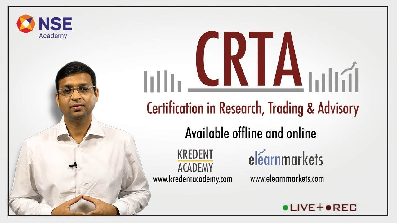 NSE Certification in Research, Trading and Advisory Course