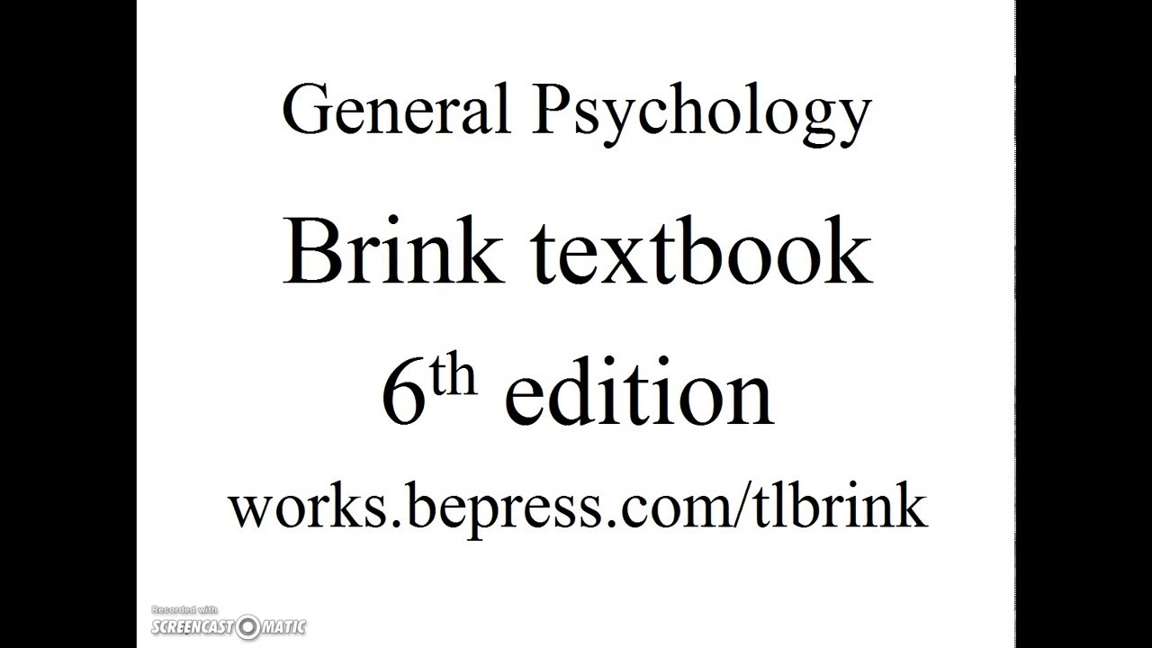 review for psychology final examination youtube