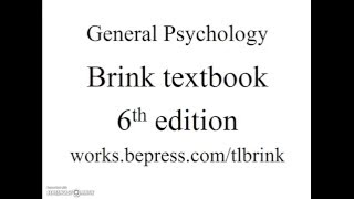 Review for Psychology Final Examination